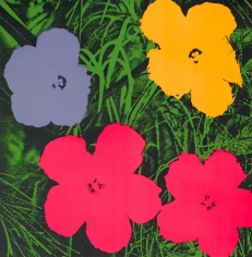 Andy Warhol, Flowers, 1970, Silkscreen, 36 x 36 inches