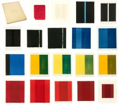 Barnett Newman, 18 Cantos, 1964, The complete set of 18 lithographs