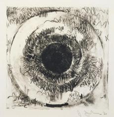 Jasper Johns, Target, 1960, Lithograph