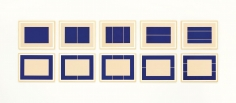 Donald Judd, Untitled, 1988, the complete set of ten woodcuts