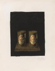 Jasper Johns, Ale Cans, 1964, Lithograph