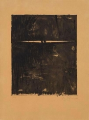 Jasper Johns, Painting with Two Balls II, 1962, lithograph