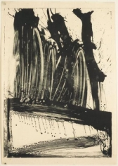 Willem De Kooning, 	Untitled (Waves II), 1960, Lithograph