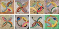 Frank Stella, Polar Co-Ordinates for Ronnie Peterson, 1980, Lithographs with screenprint