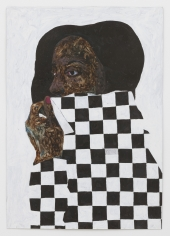 Amoako Boafo, Black and White, 2018