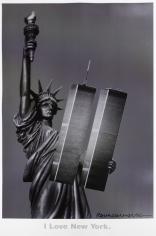 I Love New York Poster, 2001
