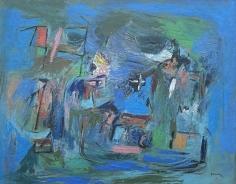"""Subjective Farm Landscape"" by Ralph Rosenborg."