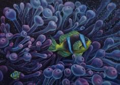 "Sold oil painting by Nikolina Kovalenko entitled ""Motherhood""."