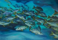 """Nikolina Kovalenko's sold oil painting """"Awakened."""""""