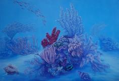 "Nikolina Kovalenko oil painting entitled ""Ikebana."""