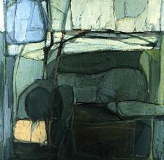 "Sold painting by Rudolf Baranik entitled ""Sleeping Dryad""."