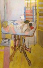Sold Nancy Kupferman still life oil painting.