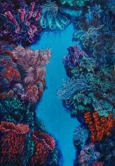 "Nikolina Kovalenko's sold oil painting ""The Portal."""