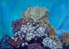 "Sold oil painting by Nikolina Kovalenko entitled ""December Morning."""