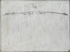 """Verso """"1-35"""" by Charles Biederman."""