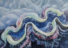 "Nikolina Kovalenko's sold oil painting ""The Clam."""