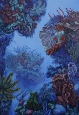 "Nikolina Kovalenko's sold oil painting ""Midsummer Dream."""