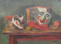 Stuart Edie oil still life painting.