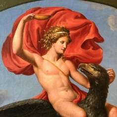 Detail of Painting of Ganymede.