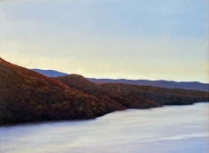 Dusk, oil painting by Tom Yost.