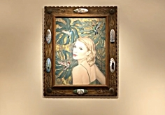 Do art dealers collect art video.