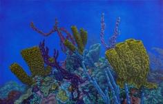 "Sold Nikolina Kovalenko oil painting ""Intermission."""