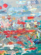 BRINTZ GALLERY, PETRA CORTRIGHT, EROTICAboyloveboylove, 2017, Digital painting on Anodized Aluminum, 68 by 48 inches, Unique Art
