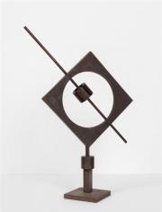 Meridiana quadrata,1968, iron