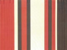 Via veneto n.1,1961, acrylic, paper and wood on canvas