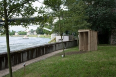 Toilet on the River