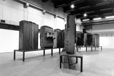 jannis kounellis exhibition view, 2010