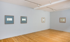 two mountains exhibition view, 2013