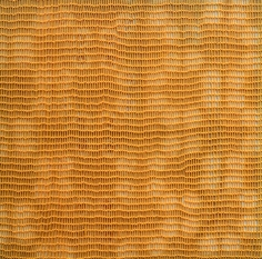 Shobha Broota  Untitled (Orange Pattern), 2017  Wool on canvas  40h x 40w in