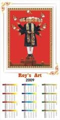 Debanjan Roy CALENDAR 3 (RAVANA) 2009 Digital print on archival paper, Edition of 5 26.5 x 15 in. Ed. 1/3