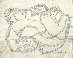 Neeraj Goswami DRAWING VI 2007 Pencil, ink on paper 7.5 x 9.5 in.