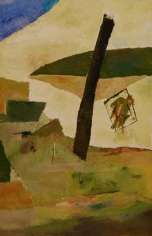 Ram Kumar Untitled Abstract 13 2007 Oil on canvas 36 x 24 in.