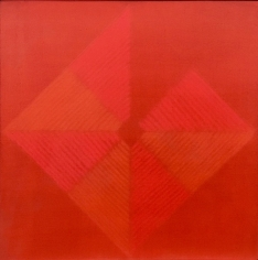 Shobha Broota  Untitled - 7, 2016  oil and acrylic on canvas  24h x 24w in