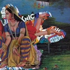 Himanshu Suri, Eat Pray Thug II, 2015, C-Print on Archival Paper, 18.50h x 18.50w in