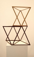 Rasheed Araeen Lovers 1968 Wood, paint Various
