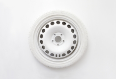 Katja Larsson   Athena SP - 7  2020  Jesmonite, marble dust  23h x 23w x 4d in  1/3