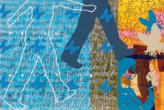 Pampa Panwar MARCH MARCHING 2007 Acrylic on canvas 48 x 72 in.  SOLD