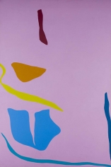 Untitled, 1970, oil on canvas, 89 x 60 in.