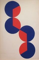 Untitled, 1968, acrylic and graphite on paper, 15 1/16 x 11 1/16 in.