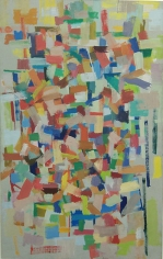 Untitled, 1954, oil on canvas, 48 1/2 x 30 3/4 in.