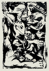 Untitled, CR1093 (After painting Number 9, CR340), 1951 (Printed from original screen in 1964), screenprint, 29 x 23 in.