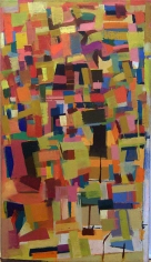 Untitled, 1954, oil on canvas, 49 x 32 in.