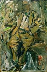 "Elaine de Kooning, ""Bill,"" 1952, oil on canvas, 48 x 32 in."