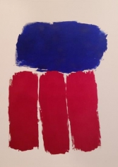 Ray Parker, Untitled (No. 68), 1963, oil on canvas, 43 x 39 in.