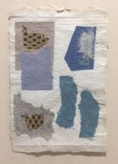Untitled (no. 506), c. 1948-54, collage, 10 1/4 x 6 3/4 in.