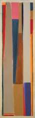 Untitled (88J), 1967, acrylic on canvas, 72 x 21 in.
